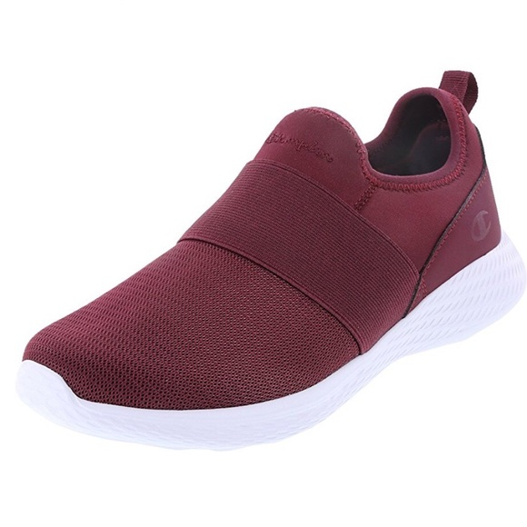 professional another chance best selection of Women's Strike Slip-on, Maroon - Sz 8 M US